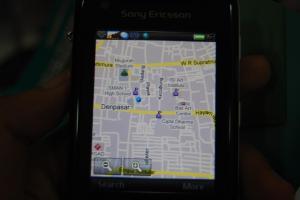 screenshot on w960i -dijual murah-
