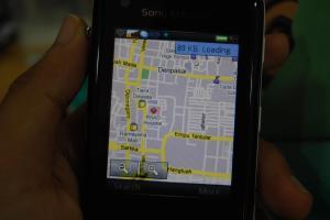 google maps on W960i